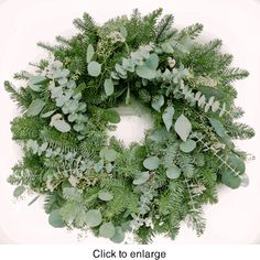 Highland Christmas Wreath 22 in