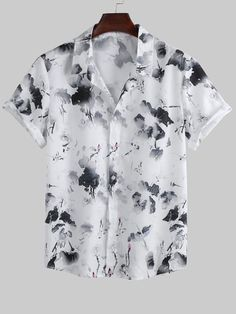 Mens Beach Shirts, Motorcycle Outfit, Shirt Style, Congratulations, Cool Style, Casual Shorts, Shirt Designs, Floral Prints, Men Casual