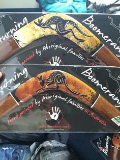 Some boomerangs