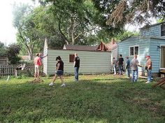 transformed backyard workshop, diy, outdoor living, woodworking projects