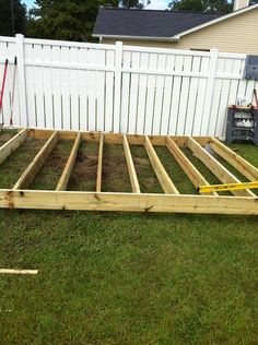 Cement deck block foundation can purchase at lowe 39 s for 12x16 deck plans free
