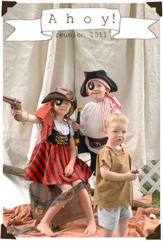 Lorajean's Magazine,: Pirate Party {annual family reunion}