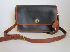 Vintage Coach Leather Penny Bag 1960s1980s  by daringmisslassiter, $48.00