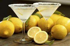 Cherry lemon sour 1 part Pinnacle Cherry lemonade vodka 2 parts fresh squeezed lemon juice Splash sugar syrup Rim martini glass with sugar, shake with ice, and strain into prepared martini glass. Garnish with a lemon