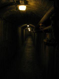 Underneath Casa Loma, Toronto, Ontario, Canada (underground passageway to old stables). Museum Studies, Toronto Photos, O Canada, Stables, Vintage Photography, Museums, Ontario, Buildings, Aesthetics