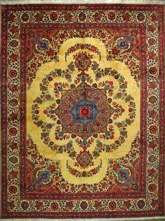 "Tabriz Persian Rug, Buy Handmade Tabriz Persian Rug 10' 0"" x 13' 1"", Authentic Persian Rug $2,507.50"