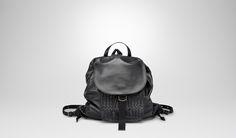 Bottega Veneta®|Nero Light Calf Back Pack |Messenger Bag|Bags