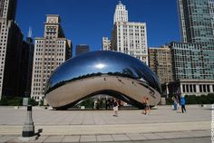 """We're doing brunch in Millennium Park, home of the """"Cloud Gate,"""" aka """"The Bean."""""""