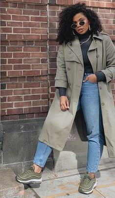 Winter Layering Outfits, Casual Winter Outfits, Fall Outfits, Cute Outfits, Black Girl Fashion, Cute Fashion, Fashion Looks, Fashion Outfits, Look Plus