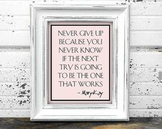 mary kay printables | Mary Kay Inspired Printable Wall Art Quote Consultant Office Decor ...