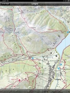 Soon available the New Hiking Trails Map of Livigno, #Alps, #Italy.