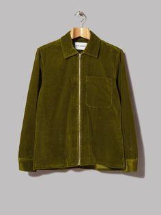 Our Legacy Drip Shirt (Solaro Lemongrass Cord)