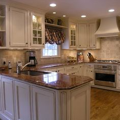 Brown Granite Design Ideas, Pictures, Remodel, and Decor