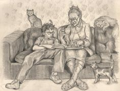 At Mrs. Figg's House by NicoPony.deviantart.com on @deviantART