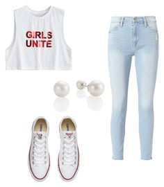 """Untitled #96"" by taukaila on Polyvore featuring Frame and Converse"