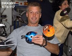 """""""Firefly and Serenity on the International Space Station."""" Browncoat in space -- shiny."""