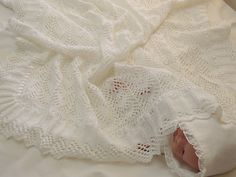 Ravelry: Baby Blanket - sure to become an Heirloom P010 pattern by OGE Knitwear Designs