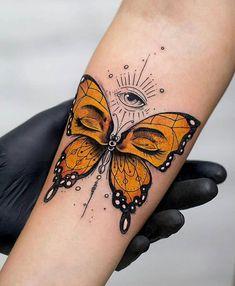 Tatuagem borboleta tattoo butterfly The post Tatuagem borboleta tattoo butterfly appeared first on Best Tattoos. Unique Butterfly Tattoos, Butterfly Tattoo Meaning, Butterfly Tattoo Designs, Unique Tattoos, Beautiful Tattoos, Butterfly Drawing, Monarch Butterfly Tattoo, Eye Tattoo Meaning, Butterfly Thigh Tattoo