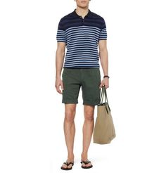 PS by Paul SmithStriped Cotton Polo Shirt