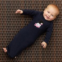 Baby Girls Navy Cotton Layette – Lolly Wolly Doodle