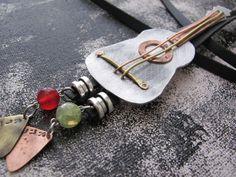 Guitar Pendant, Mens Leather Necklace, Mens Necklace Pendant, Bolo Tie, Gift For Men, Mens Jewelry Necklace, Accessorries tie, Guitar Tie