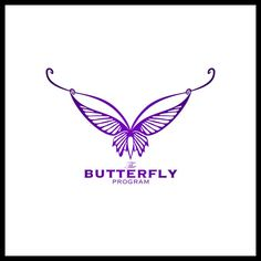 Oh No - Not Another Butterfly! by Mia Williams Logo Design Template, Custom Logo Design, Custom Logos, Company Logo, Butterfly, Bow Ties, Butterflies