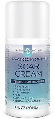awesome InstaNatural Scar Cream  Removal Treatment  Epidermal Growth Factor  1OZ - For Sale