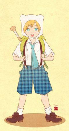 School Of Adventure Time Foto Cartoon, Cartoon As Anime, Cartoon Shows, Anime Art, Adventure Time Cartoon, Adventure Time Finn, Fanart, Cartoon Network, Gravity Falls