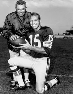 Vince Lombardi and Bart Starr - 1967