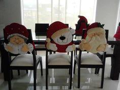 ♥ Christmas Sewing, Christmas Love, Handmade Christmas, Christmas Holidays, Christmas Crafts, Christmas Ornaments, Felt Christmas Decorations, Christmas Stockings, Holiday Decor