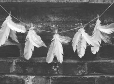 feather garland