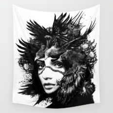 Hey You Wall Tapestry