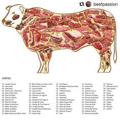 Todo mundo gosta de uma picanha, ou uma costela... mas do boi podemos aproveitar mais de 60 cortes!  #InformaçãoBemPassada #blogdacarne #dicabempssada #beef #meat #steak #boi #gado #pecuária #churrasco #pecuaria #pecuarista #agro #agribusiness #agronegocio #produtor #produtorrural #rural #wagyu #farmtotable #angus  #Repost @beefpassion ・・・ Mais de 60 opções Angus e Wagyu disponíveis para pedidos .