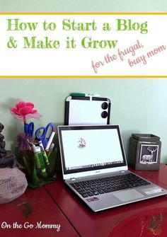 You want to start a blog! That's awesome. These tips will start you out frugally and remind you about your time. Read more to get started on the right track to turning your blog into a business and earning an income you never thought possible!