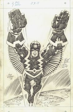 JACK KIRBY ART OF THE DAY Nice pencils - Frank The Movie ...