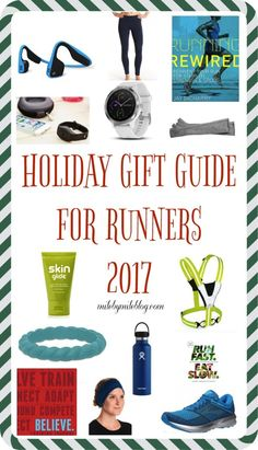 It's already that time of year where we start to think about holiday gifts. Similar to past years, I've put together runner's gift guide and gift giveaway!