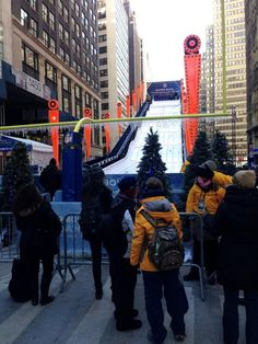 Toboggan Run at Super Bowl Boulevard