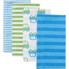We go through Lots & Lots of these flannels | Gerber Flannel Burp Cloth, 4-Pack... Buy a bunch (for day to day, feeding, etc.)
