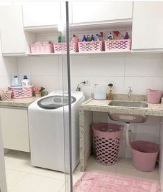 Pin by Nihad beauty on home decoration in 2020 Outdoor Laundry Rooms, Laundry Decor, Laundry Room Design, Home Design Decor, Diy Home Decor, House Design, Bathroom Organisation, Home Organization, Home Renovation
