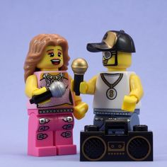 Even Lego figures cant help but Karaoke...Interested in Karaoke ? Go to www.mediacom-me.com  Original photo ©Janet Barnett.