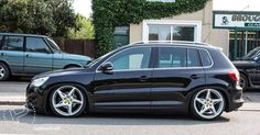 This will be our next vehicle..lowered Volkswagen Tiguan