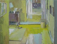 Carole Rabe - Lemon Yellow Bedroom..♔..