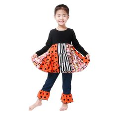 8b2297292bde1 46 Best Halloween images in 2017 | Baby girl clothing, Baby kids ...