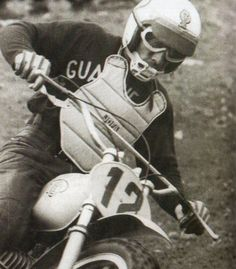 Afro Rustignoli CZ | Motocross '70-'80 years | Pinterest | Afro