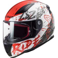 Κράνος #LS2 FF353 Rapid Naughty White-Red