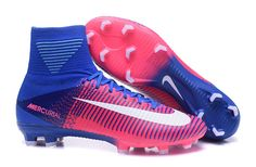 Nike Mercurial soccer cleats , 2017 Solar Pink White Blue Nike Mercurial Superfly V FG Boots | cheap price and free shipping fee @ sportcleatsuk.co.uk