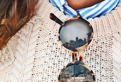 THE RETRO SUNGLASSES #fallstyle