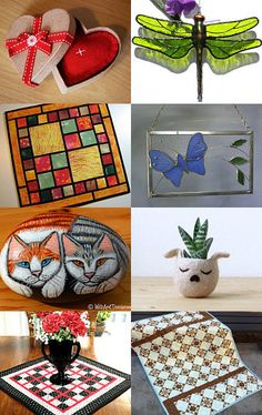 Handmade Home is Where the Heart Is by Dix Cutler on Etsy--Pinned with TreasuryPin.com