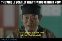 Drama: Scarlet Heart: Ryeo  Check out all of my memes on my blog, Living in Loganland  livinginloganland.com