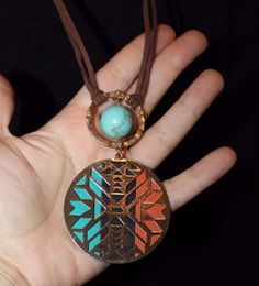 bohemian beaded tribal handmade unique long chic necklace pendant jewelry